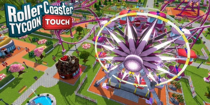 Для RollerCoaster Tycoon Touch вышло крупное обновление: дружить стало проще + 999 уровней