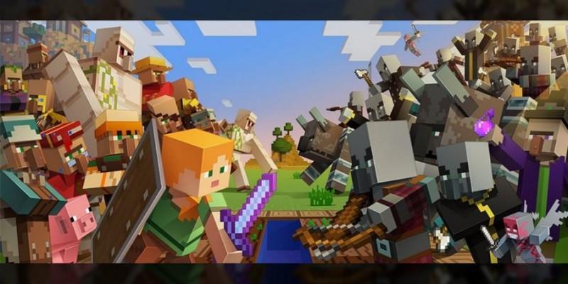 Для Minecraft вышел крупный апдейт Village & Pillage с обновленными деревнями и торговлей