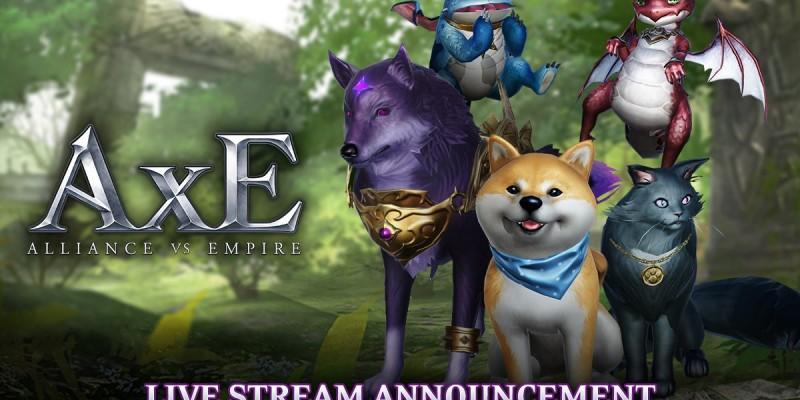 В MMORPG AxE: Alliance vs Empire появились питомцы и новый сервер для новичков