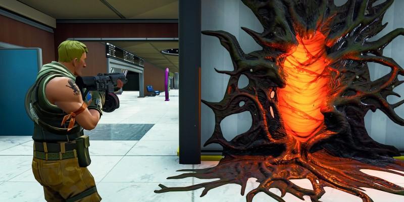В королевской битве Fortnite появляются порталы из сериала Stranger Things
