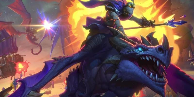 Для Hearthstone анонсировано новое дополнение«Натиск драконов», релиз 10 декабря