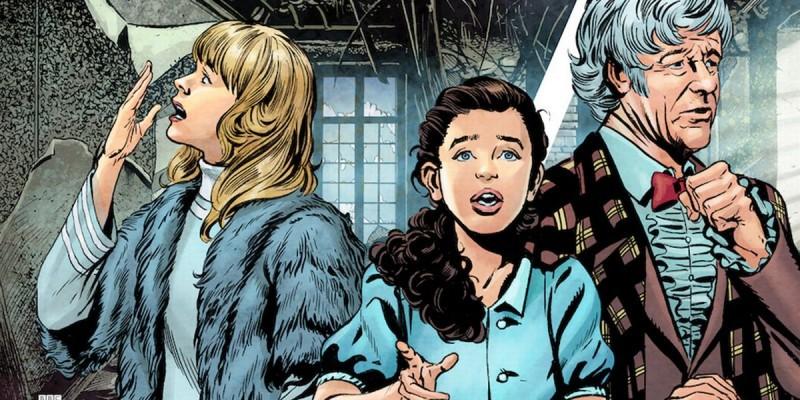 Для сюжетной три-в-ряд Doctor Who Infinity вышло последнее обновление с новыми историями