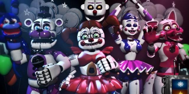 На мобильных вышел ремастер хоррора Five Nights at Freddy's: Sister Location