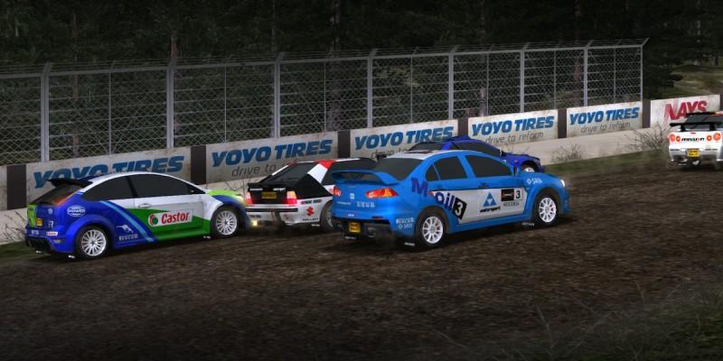 Для Rush Rally 3 вышли крупное графическое обновление и первый платный набор с машинами