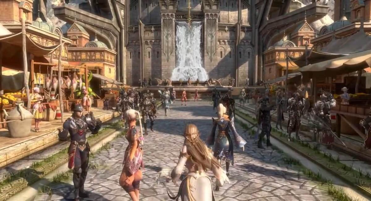 В корейской версии MMORPG Lineage 2M появился английский язык
