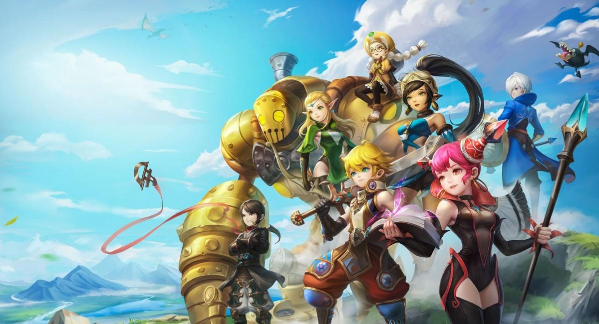 Быстрый взгляд: игровой процесс мобильной MMORPG Dragon Nest 2