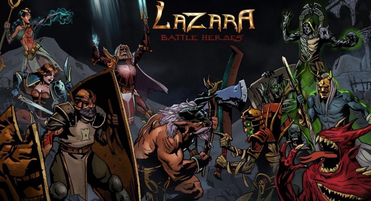 Вышло обновление для кликера Lazara Battle Heroes на iOS и Android