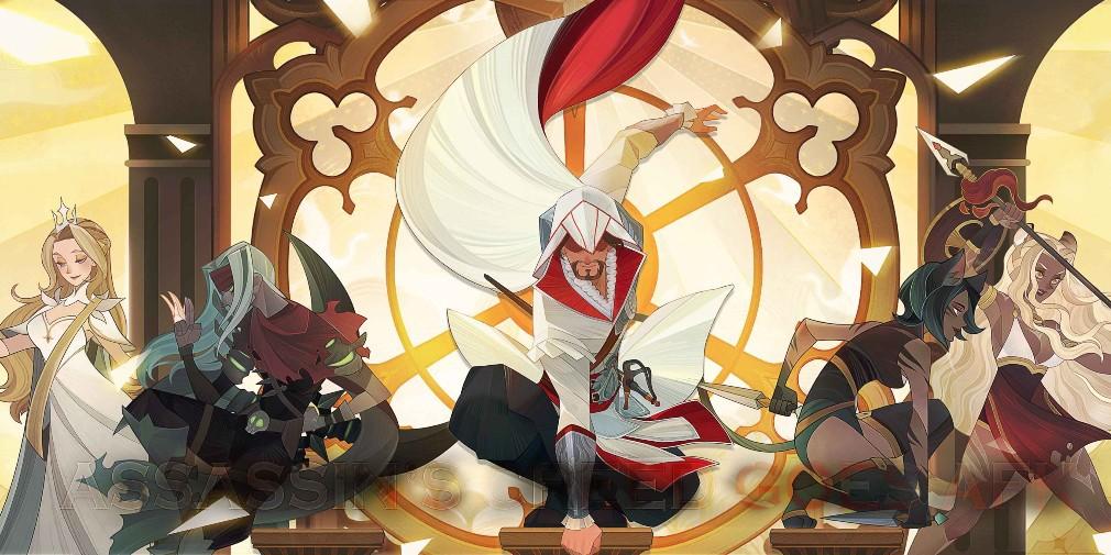 Последним персонажем в AFK Arena стал Эцио Аудиторе из серии Assassin's Creed