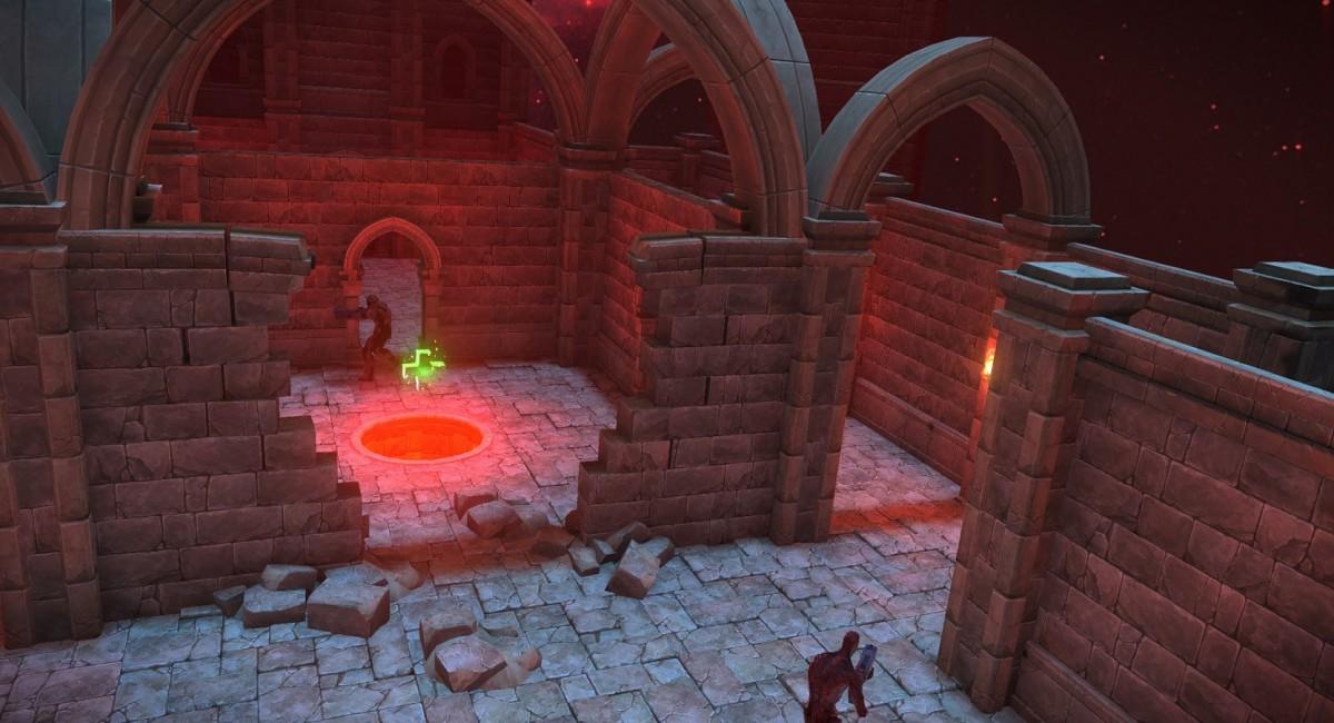 Аренный шутер Hellfire обзавёлся обновлением, игра сильно напоминает Quake
