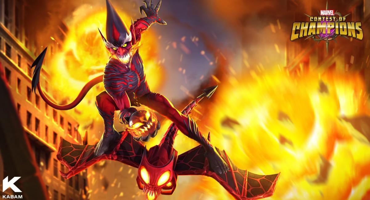 Красный Гоблин и Космический Призрачный Гонщик будут добавлены в Marvel Contest of Champions