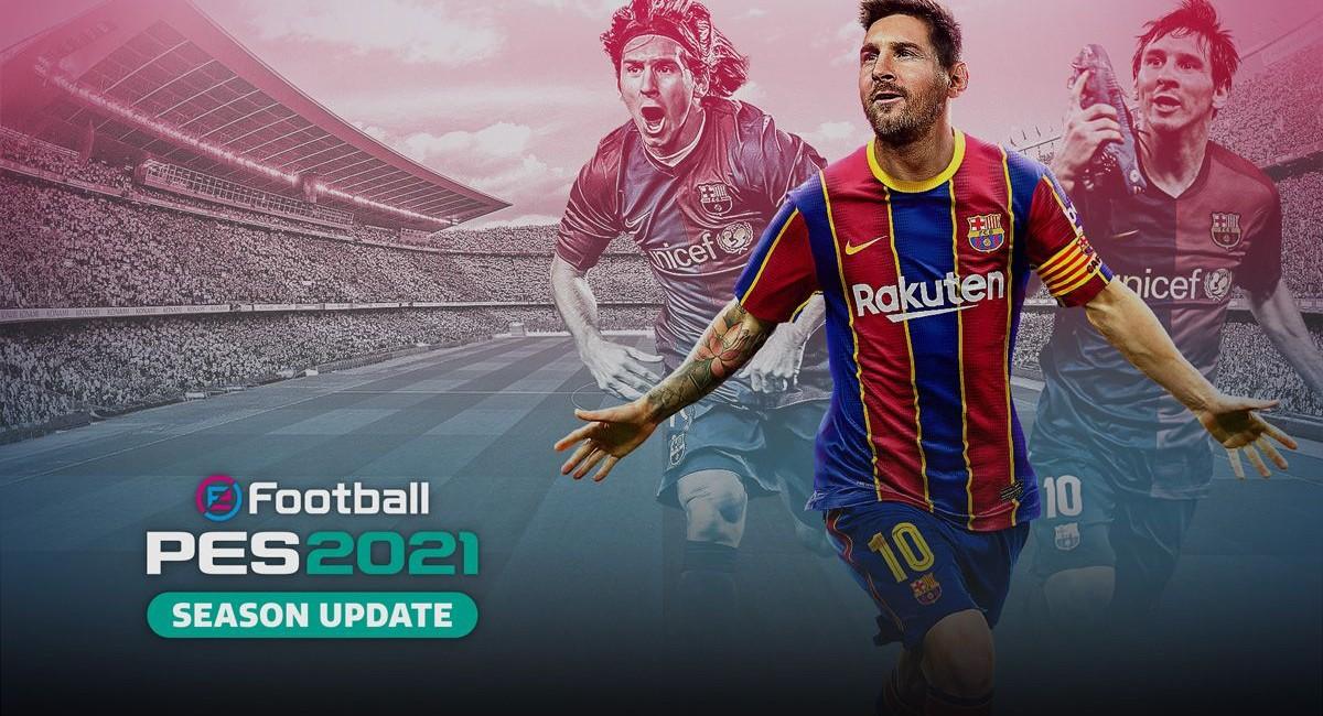 eFootball PES 2021 — футбольный симулятор получил сезонное обновление