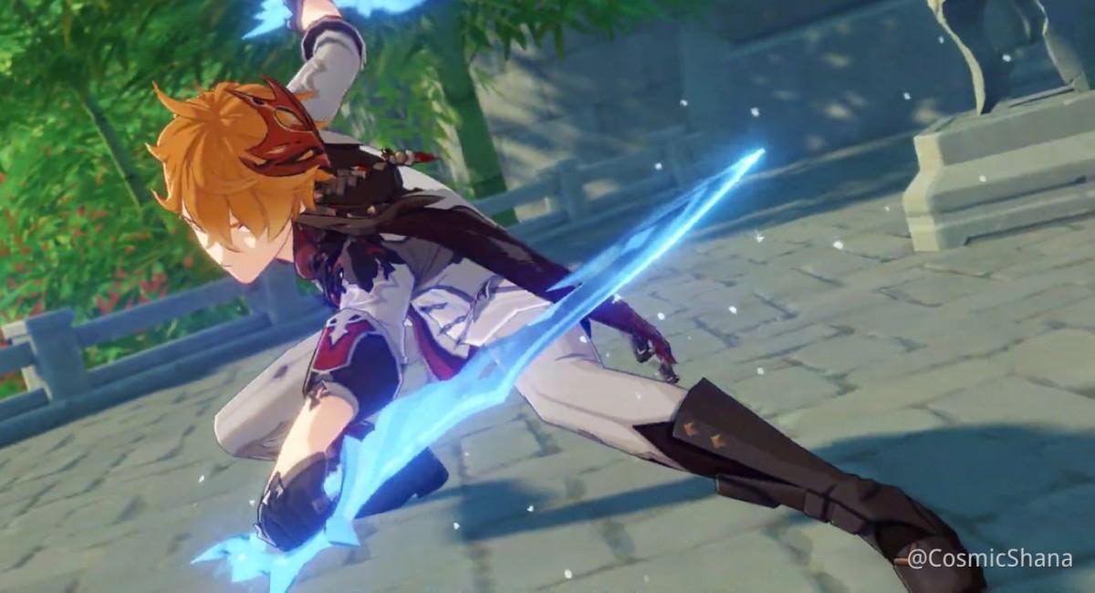 Чайлд — новый 5-звёздочный персонаж Genshin Impact, по сюжету он умеет стирать и готовить