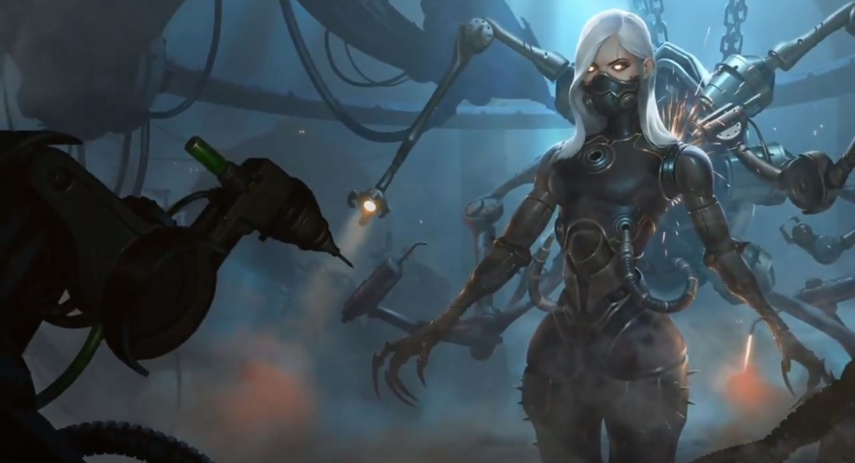 Космическое творчество: Riot Games тизерит новое дополнение к Legends of Runeterra