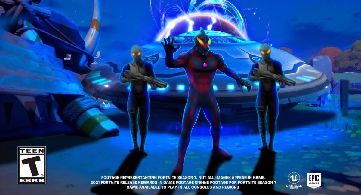 Смотрим тизер 7 сезона Fortnite, пришельцы нападут уже этим летом