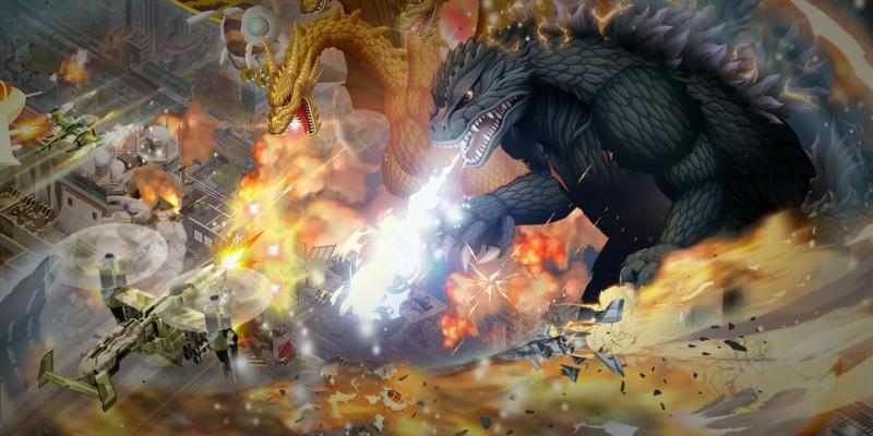 Состоялся релиз кликера Godzilla Defense Force с культовыми монстрами франшизы