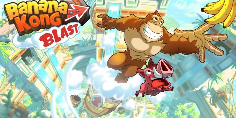 Состоялся релиз Banana Kong Blast — платформера с новыми механикой и графикой