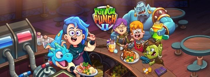 На мобильных вышел яркий фэнтезийный тайм-менеджер Potion Punch 2