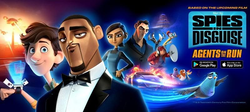 По мотивам мультфильма «Камуфляж и шпионаж» выйдет раннер Spies in Disguise: Agents on the Run
