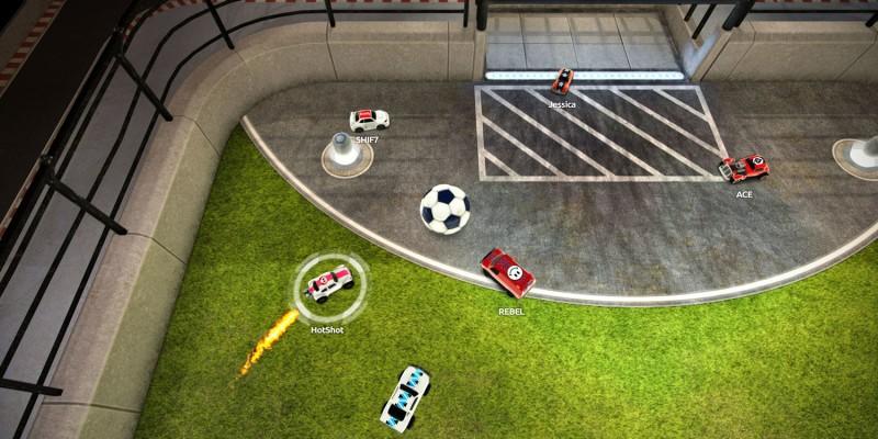 Футбол на автомобилях Soccer Rally: Arena доступен в режиме пробного запуска на Android