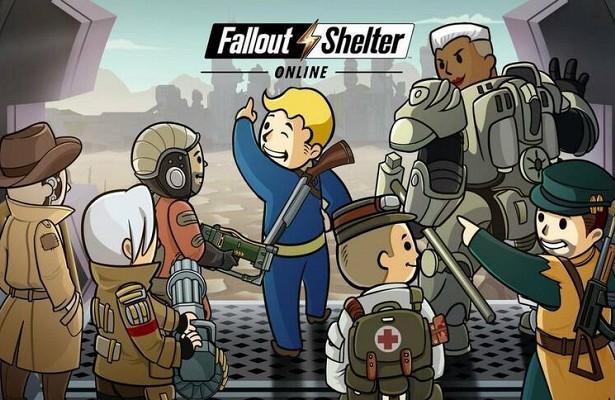 Fallout Shelter Online вышла на английском языке для игроков из Азии