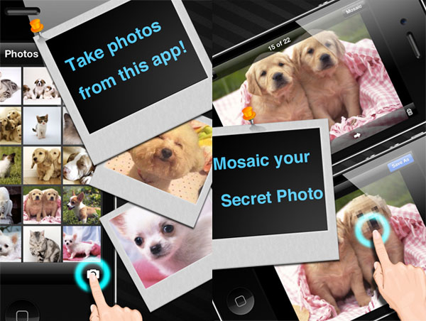 Photo Safe Pro с Mosaic_scrin