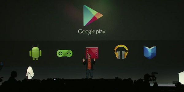 google-play screen