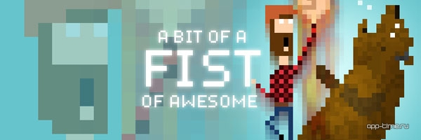 Fist of Awesome screen