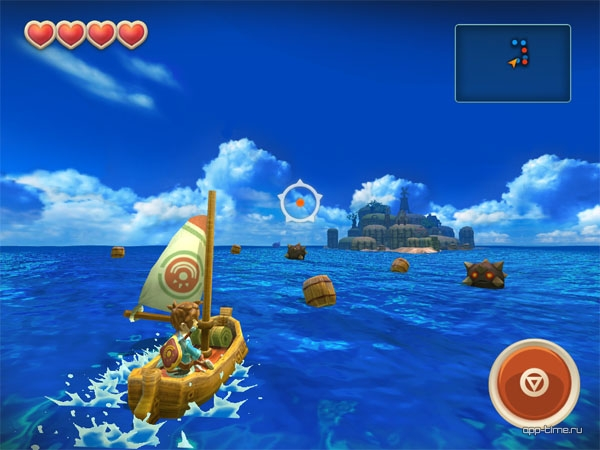 Обзор Oceanhorn screen3