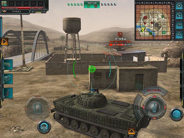 Обзор Tank Domination screen1