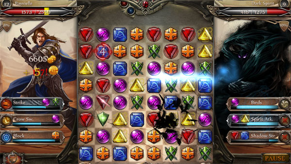Jewel Fight Heroes of Legend screen1