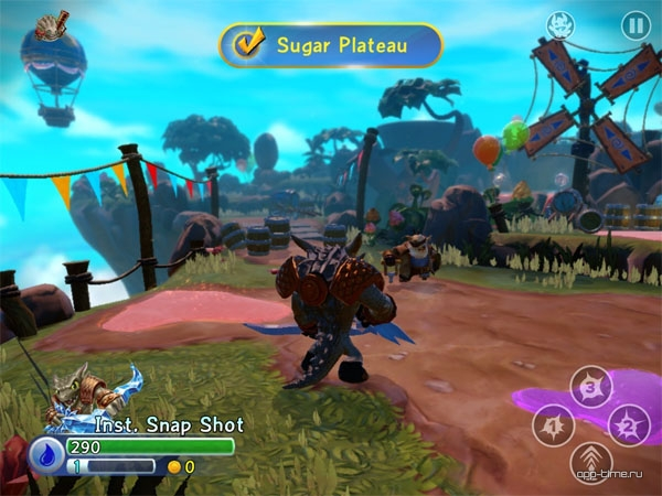 Skylanders Trap Team screen2