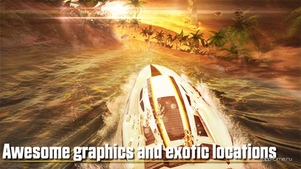 Driver Speedboat Paradise screen1