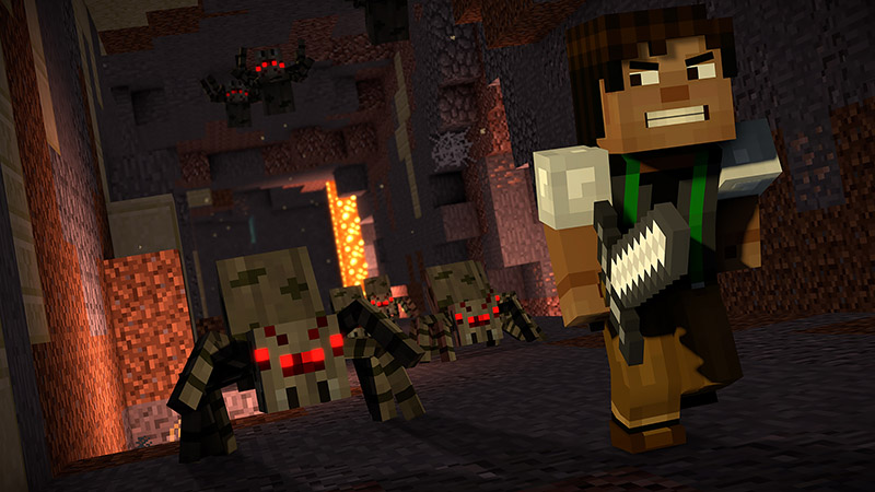 Minecraft Story Mode screen1