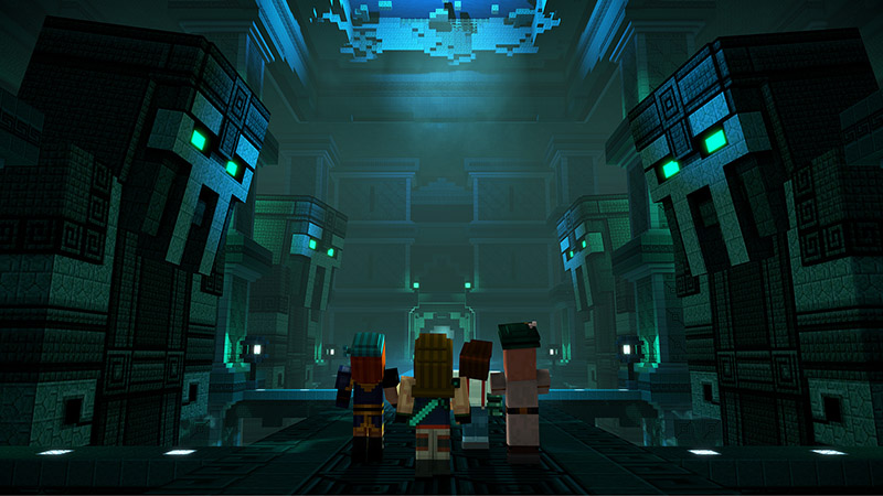 Minecraft Story Mode screen2