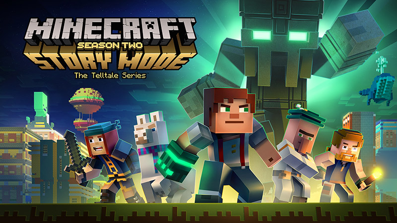 Minecraft Story Mode screen3