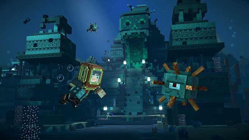 Minecraft Story Mode screen4